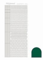 Stickervel Hobbydots Adhesive STDA052 green