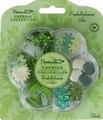 Docrafts Papermania 3562101 Embellishment verde