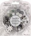 Docrafts Papermania 3562100 Embellishment monochrome