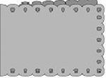 Passe-Partout Romak A6 liggend schulp 28 lichtblauw