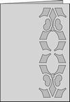 Romak Stanskaart 266 Decoratief Lelie 21 wit