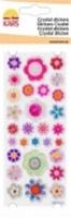 Crystal sticker Kars bloemen mix