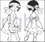 MD clear stamps Hetty's Snoesjes HM9430 Shopping