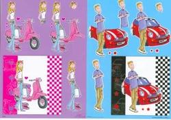 A4 Knipvel Mireille1003 Cartoon/jeugd girls/boys