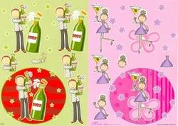 A4 Knipvel Mireille1004 Cartoon/jeugd girls/boys