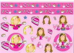 A4 Knipvel Mireille1008 Cartoon/jeugd girls