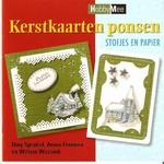 Hobby Mee Boek Kerstkaarten ponsen stofjes & papier