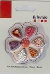 Artemio mini brads 11006069 rood