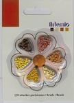 Artemio mini brads 11006072 natuur