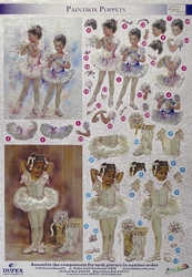 Dufex A4 Stansvel Metallic 713 Poppets ballet/ballerina