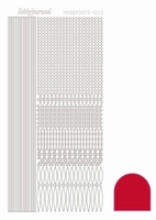 Stickervel Hobbydots Adhesive STDA034 red