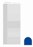 Stickervel Hobbydots Mirror STDM04A donkerblauw