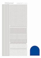Stickervel Hobbydots Mirror STDM03A donkerblauw