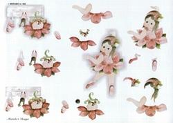 A4 Knipvel Wekabo 542 Ballerina in het roze