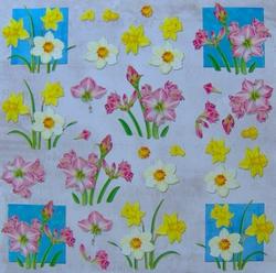 3D Knipvel Crea Motion Flower Spring 1