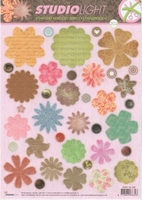 A4 Stansvel Studio Light EASYSL202 Bloemen flower shapes