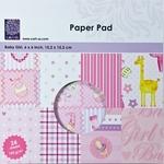 Paper pad cArt-us 0007 baby girl