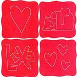 Sizzlits 389625 doodle love set