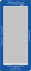 Stickervel Starform Outline 1222 Lijntjes/zigzag