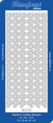 Stickervel Starform Outline 1275 Brede Lijntjes kant 1,5cm