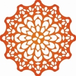 Cheery Lynn CLD04 Die Canadian Kaleidoscope Doily