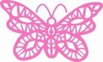 Cheery Lynn CLD05 Die Oriental Butterfly Doily