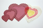 Cheery Lynn CLD06 Die Heart to Heart Doily/hartenmal