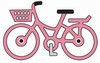 Cheery Lynn A195 Little Pink Bicycle