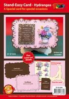 Combinatie Set Stand-Easy Kaart XL 06 met 3D Hortensia