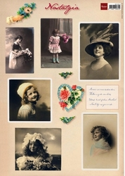 A4 Knipvel MD VK9518 Vintage Little girls