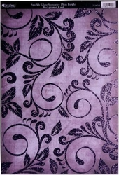 A4 Achtergrondvel Kanban CRD9743 Sorrento Plum Purple