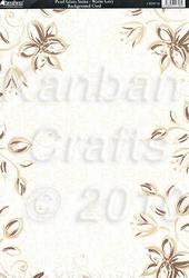 A4 Achtergrondvel Kanban Pearl Glaze CRD9746
