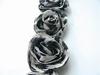 MD Flower ribbons FR1104 ivory,black,gray