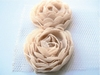 MD Flower ribbons FR1115 light brown