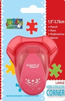 Picture punch hoekpons large 003 tulp