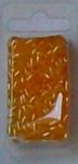 Ovale kralen 1068 licht oranje