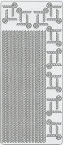 Stickervel Peel-off 0078 Randen en hoeken