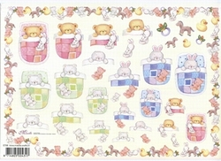 Knipvel A4 Mireille E788 Geboorte baby jonge:meisje