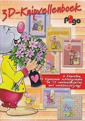 3D Knipvellen boek Pigo