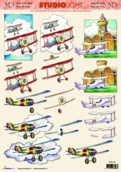 A4 Knipvel Studio Light Heren  792 vliegtuigjes