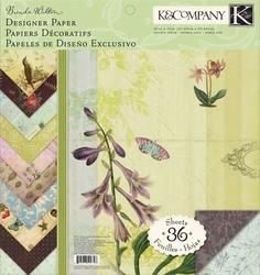 K&Company Designer Paper Pad 727 Brenda Walton Flora & Fauna