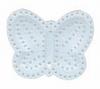 Plastic stramien vlinder