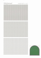 Stickervel Hobbydots Mirror STDM072 Green