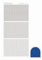 Stickervel Hobbydots Mirror STDM07A Blue