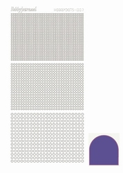 Stickervel Hobbydots Mirror STDM079 Purple/paars