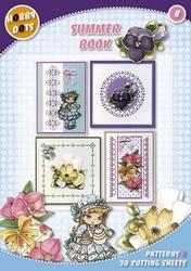 Hobbydots  8 - Summer Book + 8 stickers