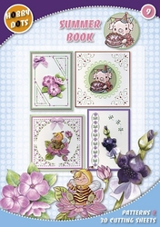 Hobbydots  9 - Summer Book + 9 stickers
