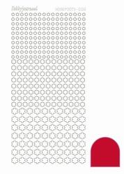 Stickervel Hobbydots Adhesive STDA084 Red