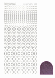 Stickervel Hobbydots Mirror STDM086 violet/lila