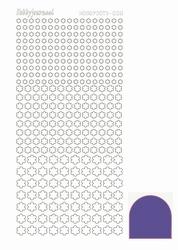 Stickervel Hobbydots Mirror STDM089 Purple/paars